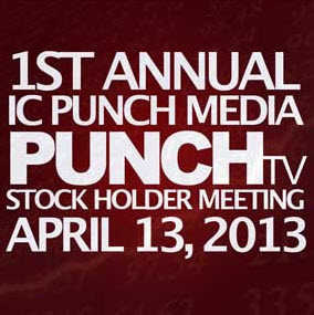 1st annual Shareholder Meeting